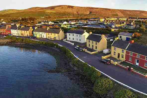 The history of the development of cahersiveen begins in 1579
